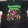 Demolition Hammer - TShirt or Longsleeve - Demolition Hammer - Tortured existence European tour