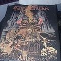 OG Sepultura - Arise Back Patch