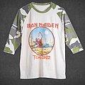 OG Iron Maiden Remastered The Beast Tames Texas '82 Camo Baseball TShirt or Longsleeve