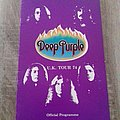 Deep Purple - Other Collectable - programme deep purple 74
