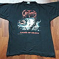 Obituary - Cause of Death tour shirt 1990