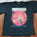 Massacre - TShirt or Longsleeve - Massacre - From Beyond tour shirt 1991