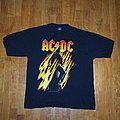 AC/DC Vintage Shirt Bonfire 1998