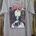 Death - TShirt or Longsleeve - DEATH - Individual Thought Patterns European Tour'93