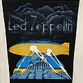 Led Zeppelin - Patch - Led Zeppelin / Theme from II Brown  Bomber  - 1986 backpatch