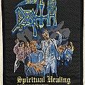Death / Spiritual Healing - 1990 Blue Grape Woven Patch
