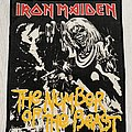 Iron Maiden / The Number Of The Beast backpatch