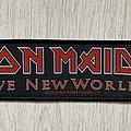 Iron Maiden - Patch - Iron Maiden / Brave New World 2000 - strip patch 2004