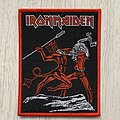 Iron Maiden - Patch - Iron Maiden / Run To The Hills - Bootleg patch