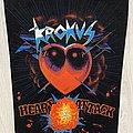 Krokus - Patch - Krokus / Heart Attack - Backpatch