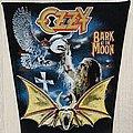 Ozzy Osbourne - Patch - Ozzy Osbourne / Bark At The Moon - back patch