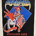 Atrophy - Patch - Atrophy / Socialized Hate - 1990 Blue Grape  backpatch