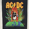 AC/DC - Patch - AC/DC / Heatseeker - 1989 Backpatch