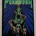 Forbidden / Twisted Into Form - 1990 Razamataz Backpatch