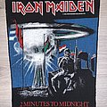 Iron Maiden - Patch - Iron Maiden - 2 Minutes To Midnight back patch