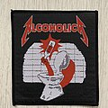 Metallica - Patch - Metallica / Alcoholica - 80s woven patch