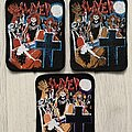 Slayer - Patch - Slayer / Live Undead - 80's printed patches
