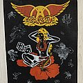 Aerosmith - Patch - Aerosmith - 80's Backpatch