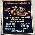 Metalmania '88 / Thrash Metal Katowice 07.02.1988 Patch