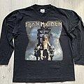 Iron Maiden - TShirt or Longsleeve - Iron Maiden / The X Factour - 1995 longsleeve