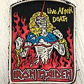 Iron Maiden / Live After Death - rubber patch