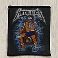 Metallica - Patch - Metallica / Ride The Lighting - Electric Chair - 80s patch