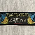 Iron Maiden - Patch - Iron Maiden / Fear of the Dark - 1992 Holdings Ltd stripe woven patch