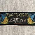 Iron Maiden / Fear of the Dark - 1992 Holdings Ltd stripe woven patch