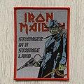 Iron Maiden - Patch - Iron Maiden - Stranger in a Strange Land Texas Eddie - bootleg patch
