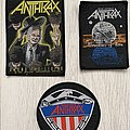 Anthrax - Woven patches - 1987 / 1990