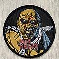 Iron Maiden - Patch - Iron Maiden / Piece of Mind Eddie patch