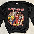 Iron Maiden - TShirt or Longsleeve - Iron Maiden / Bring Your Daughter... - 1990 European Tour sweatshirt
