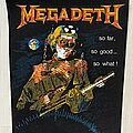 Megadeth - Patch - Megadeth - So Far So Good So What! Backpatch