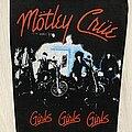 Mötley Crüe - Patch - Mötley Crüe / Girls, Girls, Girls - backpatch