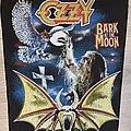 Ozzy Osbourne - Patch - Ozzy Osbourne - Bark At The Moon Back Patch