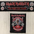 Iron Maiden - Patch - Iron Maiden / The First Ten Years - 1990 IM Holdings patches