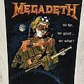 Megadeth - Patch - Megadeth / So Far, So Good...So What! - Backpatch