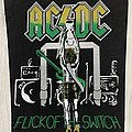 AC/DC - Patch - AC/DC / Flick Of The Switch - Backpatch