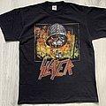 Slayer - TShirt or Longsleeve - Slayer / Unholy Alliance Chapter III - 2008 Europe