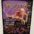 Megadeth - Patch - Megadeth / Peace Sells...but who's buying - back patch