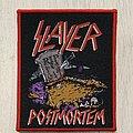 Slayer - Patch - Slayer / Postmortem - patch