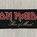 Iron Maiden - Patch - Iron Maiden / Piece of Mind - strip patch