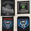 Motörhead / Rock 'n' Roll, No Sleep At All, Ace of Spades patches