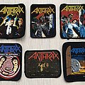 Anthrax / Printed patches