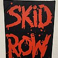 Skid Row - Patch - Skid Row - 1990 Backpatch