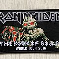 Iron Maiden - Patch - Iron Maiden / The Book Of Souls World Tour 2016 - patch