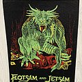 Flotsam And Jetsam - Patch - Flotsam and Jetsam / Doomsday For The Receiver - backpatch