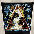 Def Leppard - Patch - Def Leppard / Hysteria - 80's back patch