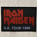 Iron Maiden - Patch - Iron Maiden / UK Tour 1980 - Bootleg patch