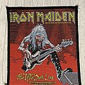 Iron Maiden - Patch - Iron Maiden / Fear of the Dark Live - 1993 Holdings Ltd woven patch